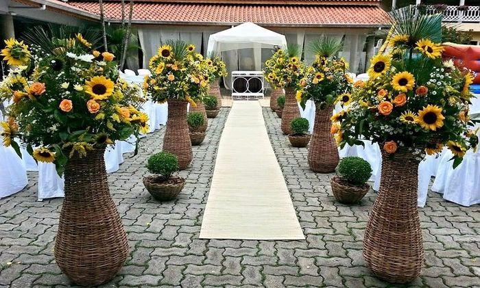 Decoraç u00e3o com flores#girassol -> Decoração De Girassol Para Aniversario