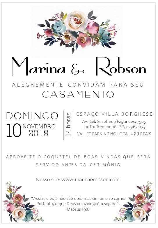 Casamentos reais 2019: o convite - 1