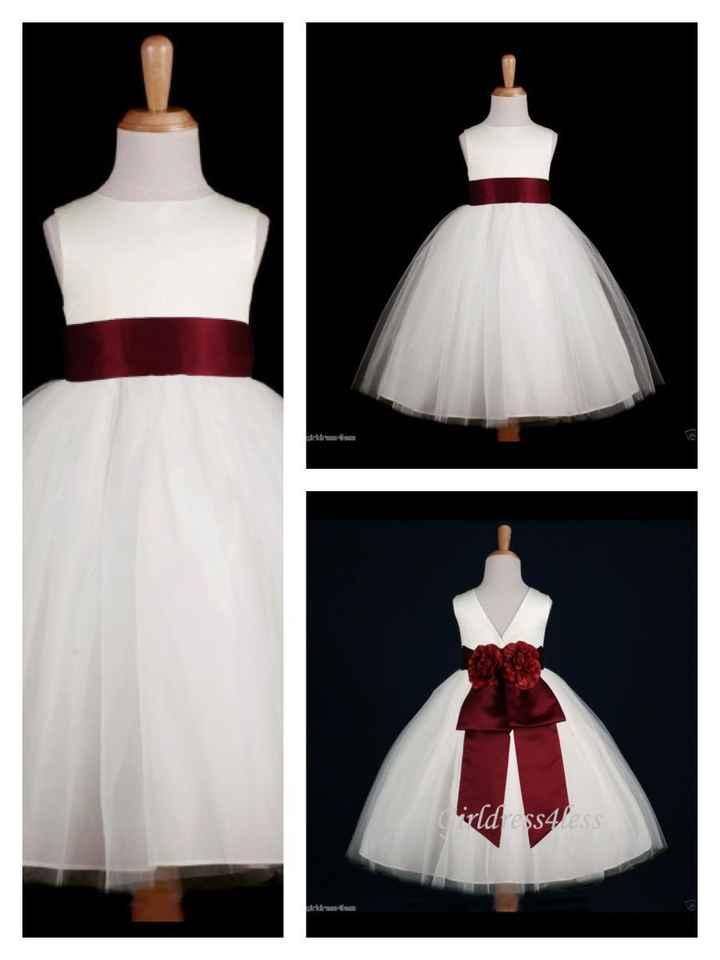 Vestidos para daminhas - 1