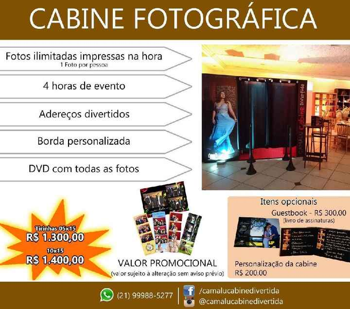 Indicações de Cabine Fotográfica - 2