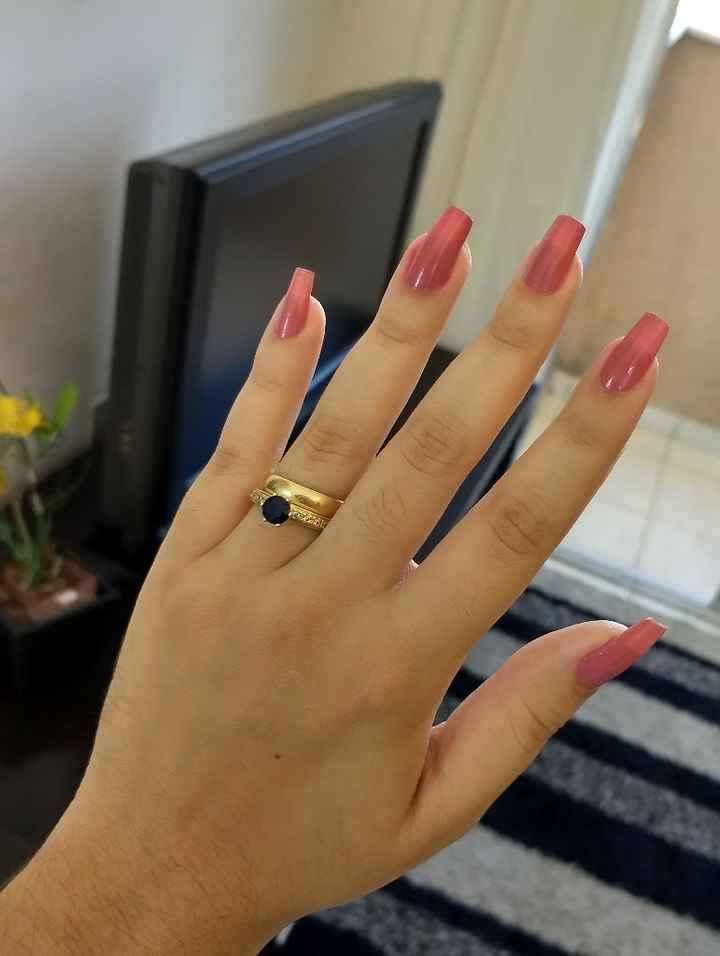 Poste a foto do seu anel/aliança de noivado! - 2