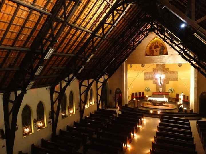 Interior da Paróquia