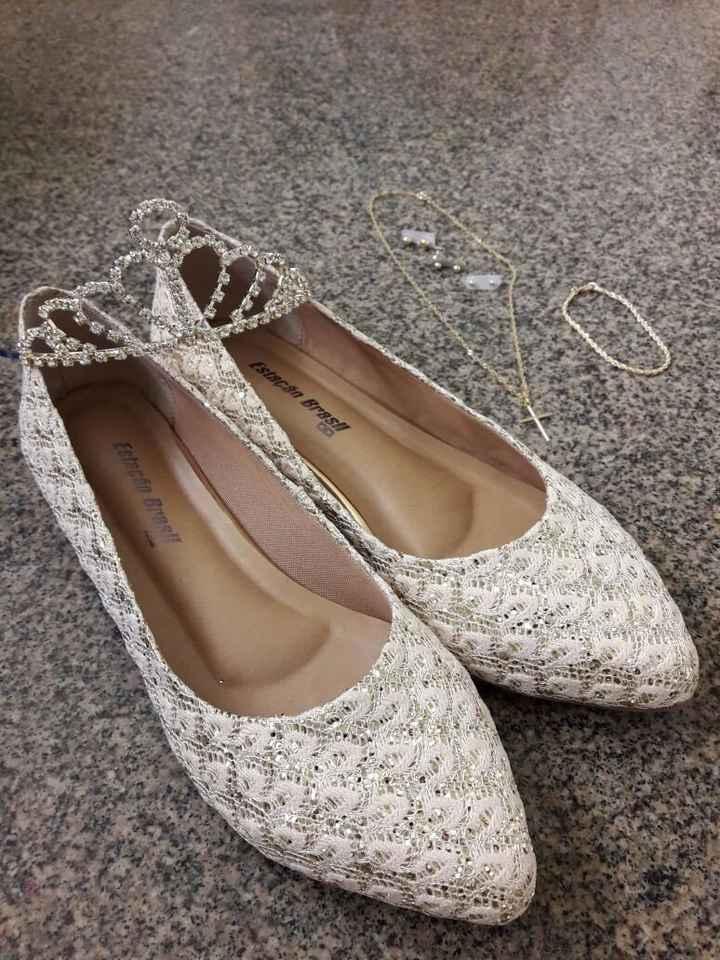 Sapato e Acessórios da Noiva