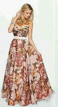 Vestido florido para madrinhas. qual é a opinião de vocês  - 2 4ca53333c4d