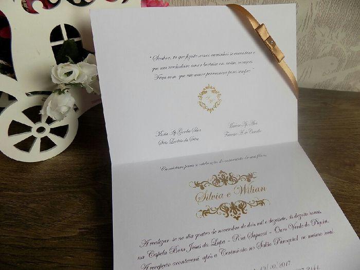 a escolha dos meus convites - 2