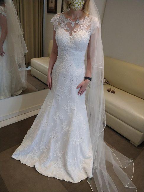 Escolhendo o vestido de noiva 👰 8