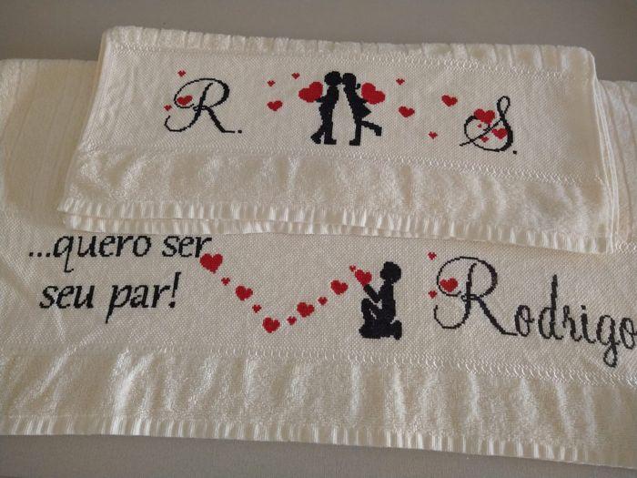 Meu jogo de toalhas 2