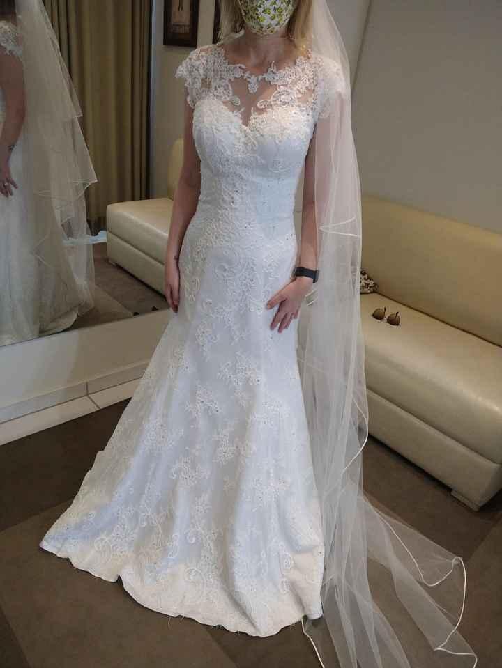 Escolhendo o vestido de noiva 👰 - 1