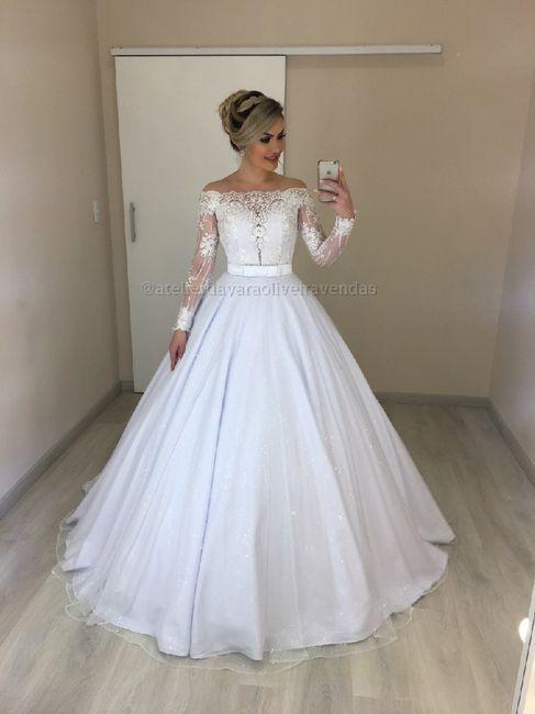 Meu vestido de noiva! 1