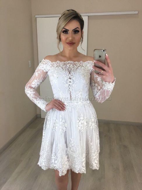 Meu vestido de noiva! 2