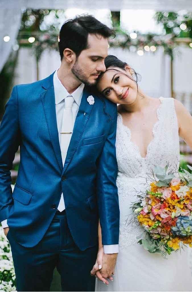 Minhas escolhas para o dia da noiva - (luana Silveira) - 4