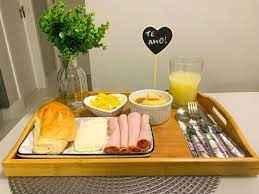 O que é indispensável num café da manhã na cama? - 1