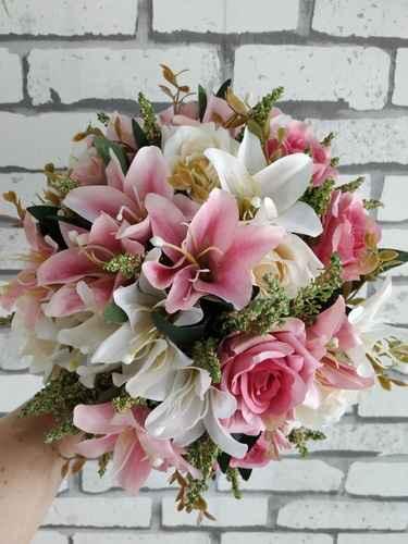 Qual item de casamento você usaria ou escolheria na cor rosa? #outubrorosa - 1