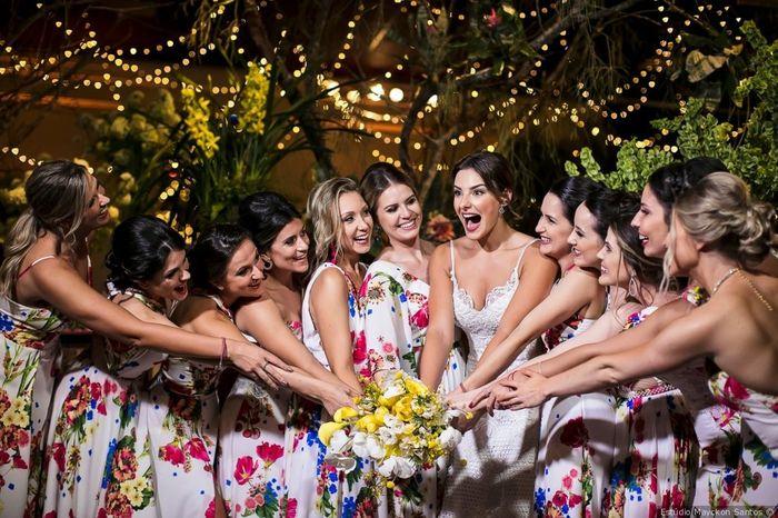 Fábrica de casamentos: as madrinhas 4