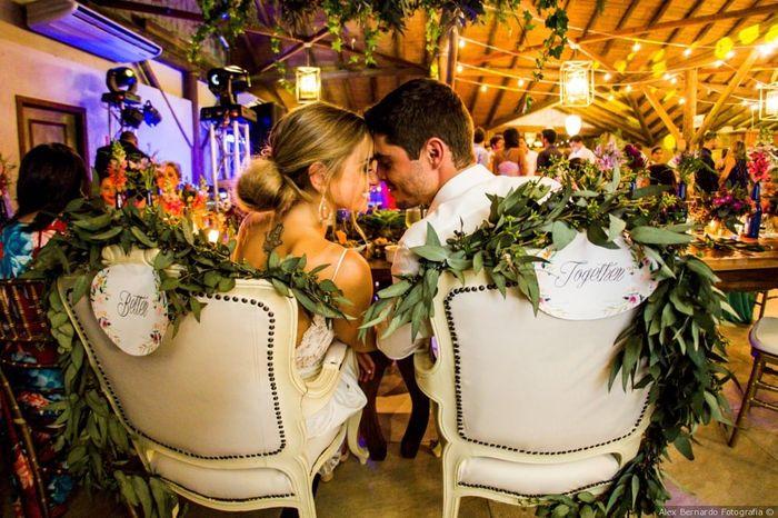 Fábrica de casamentos: a cadeira dos noivos 1