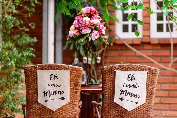 Fábrica de casamentos: a cadeira dos noivos 4