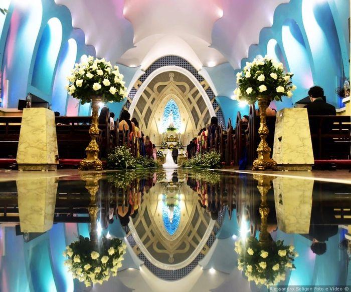 Pastinha de inspirações: decoração da cerimônia 8