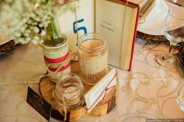 Pastinha de inspirações: centro de mesa 4