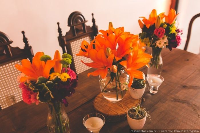 Pastinha de inspirações: centro de mesa 6
