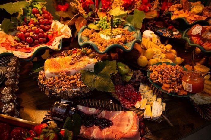 Já foi a mais casas de festa só pela degustação? 1