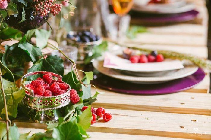 Que frutas você incluiria no kit romântico da noite de núpcias? 1