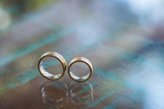 Que cor você escolhe para as suas alianças de casamento? 1