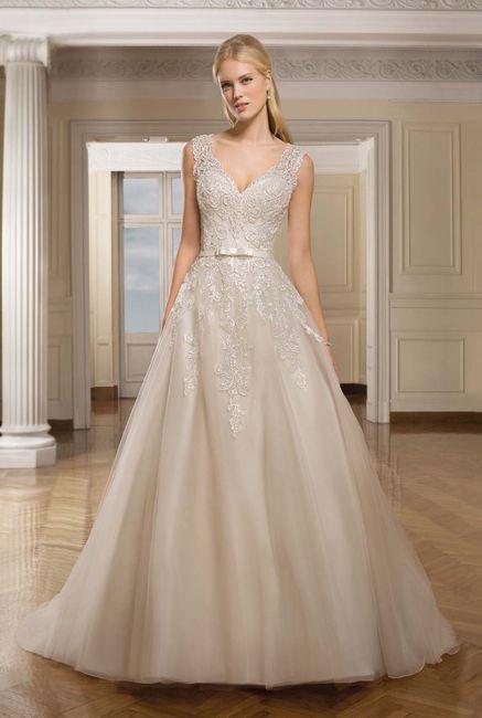 Que outro tom além do branco você escolheria para o vestido? 1