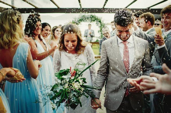 ☑️❌ Arroz nos noivos: à favor ou contra? 1