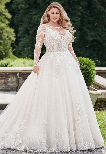 Vestido de noiva princesa: qual dos dois? 1