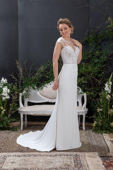 Vestido de noiva reto: qual dos dois? 2