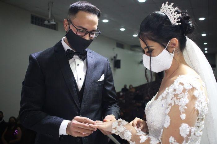 Casando de máscara: simples ou personalizada? 1