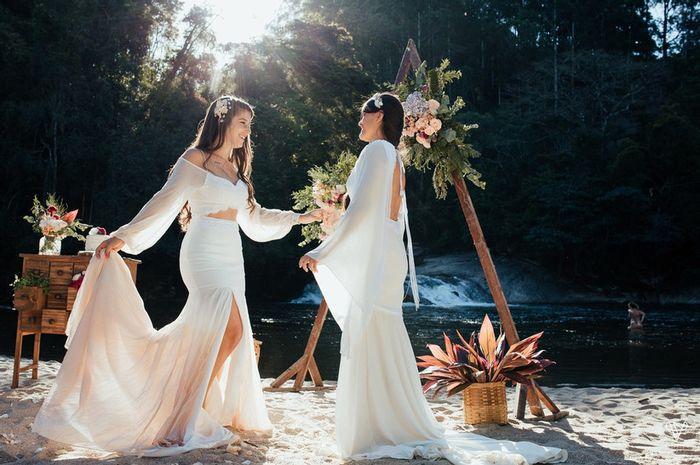 4º erro na compra do vestido: Escolher um modelo maior ou menor 👰 1