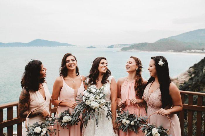 Vai ter a cor rosa na sua paleta de casamento? #OutubroRosa 2