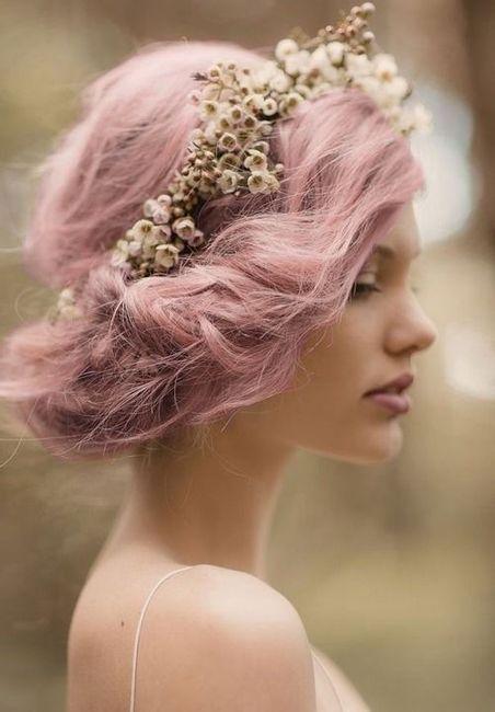 Noivas de cabelo tingido ou natural? #OutubroRosa 2