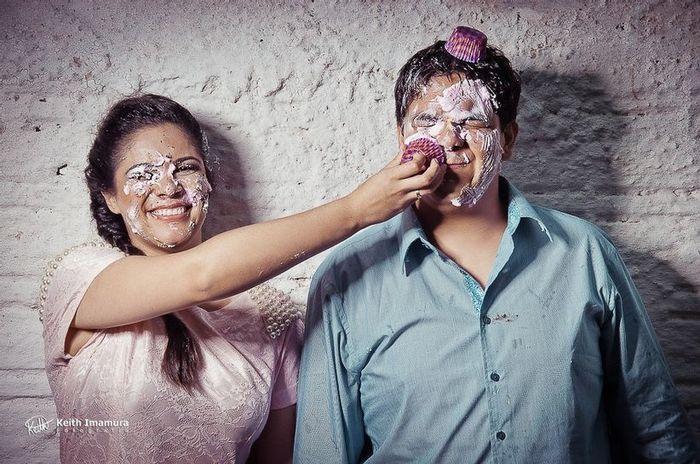 Ideia de foto divertida para pré-wedding: qual você salva? 2