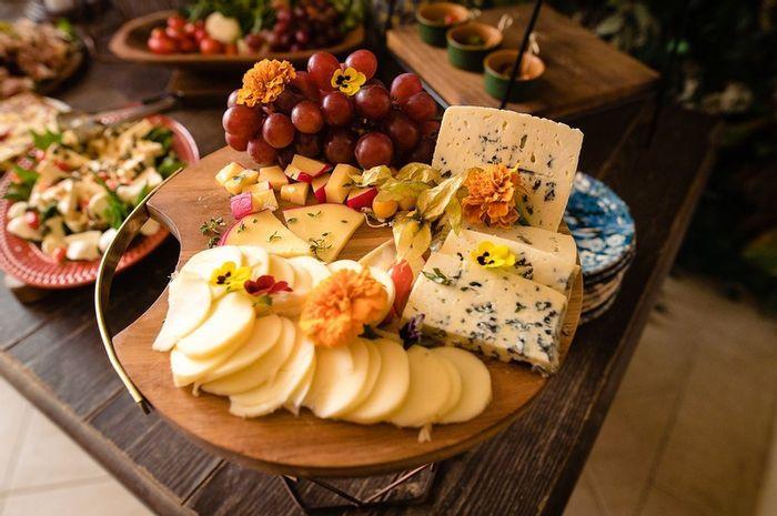 Qual destas comidinhas extras da mesa de frios incluiria no seu casamento? 1