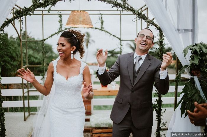 A cara de 2021: casamento ao ar livre 1