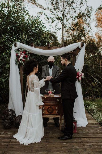 Casamento intimista agora e festão no futuro? 2