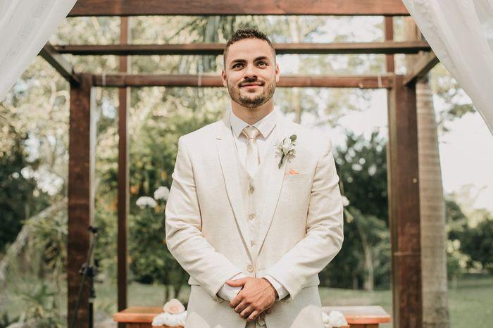🤵 15 cores de ternos de casamento mais usadas pelos noivos 3