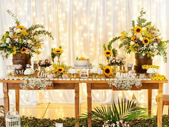 Que item de decoração é indispensável no seu casamento? 2