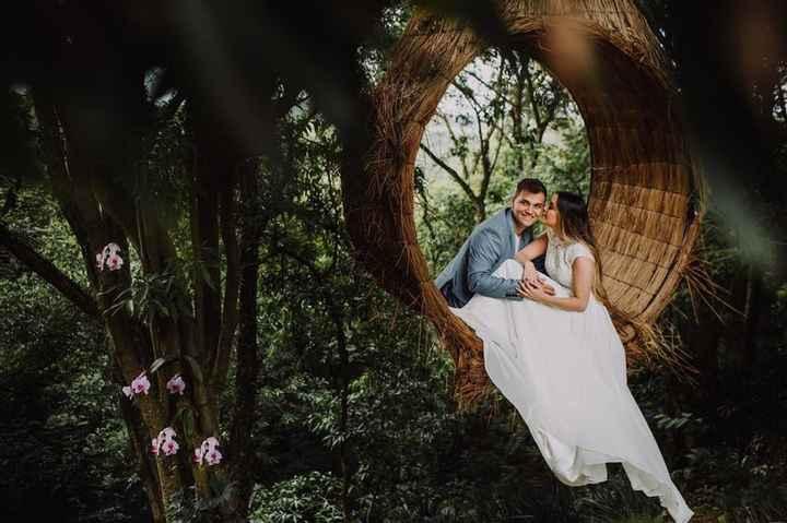 Como você gostaria de se sentir no dia do seu casamento? - 1