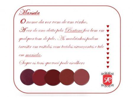 Paleta de cores: Marsala | Blog do Casamento
