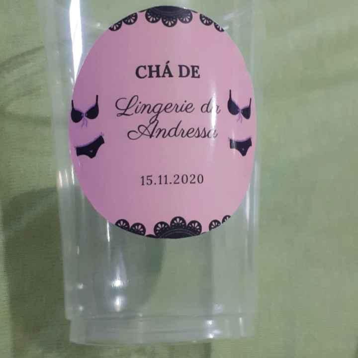Preparativos chá de lingerie - 1