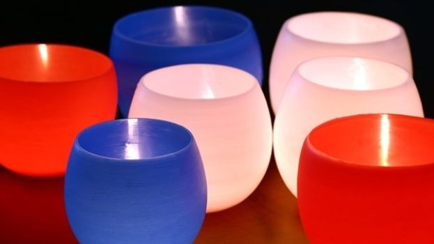 velas luminárias