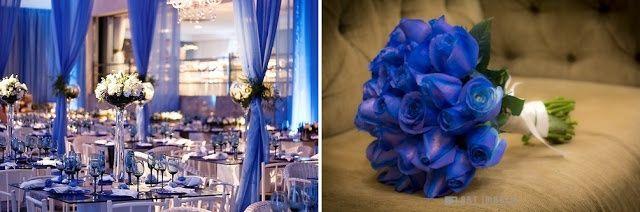 Decoração: Azul e Branco