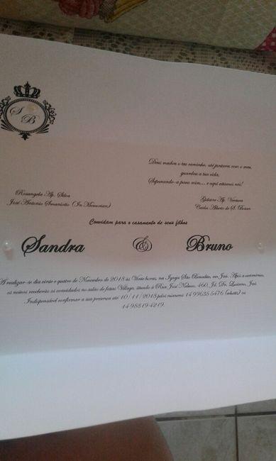 Convites prontos #vemver! - 2