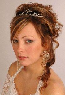 Cabelo de noiva preso