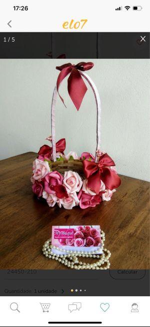 Cestinhas das floristas diy 🌸🎀👸🏼 5