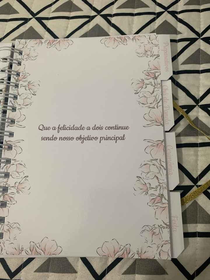 Agenda/planner da Noiva - 1