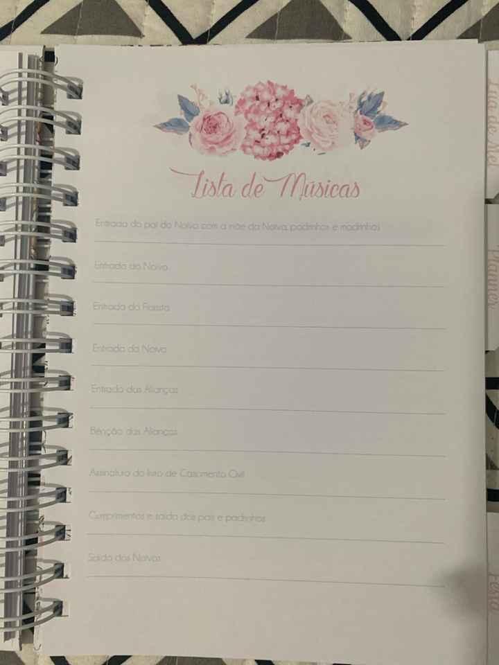 Agenda/planner da Noiva - 7